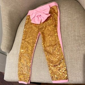 Other - Gold sequin leggings
